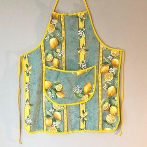 Vintage Lemon Apron 🍋
